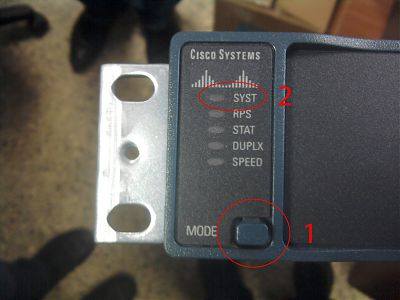Cisco Catalyst 2960G mode