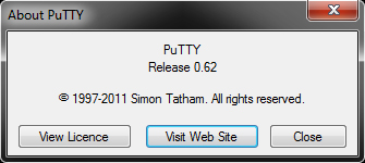 About PuTTY