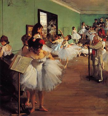 Эдгар Дега - Класс танцев