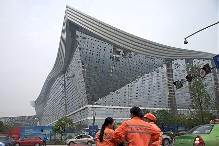 New Century Global Centre - экстерьер