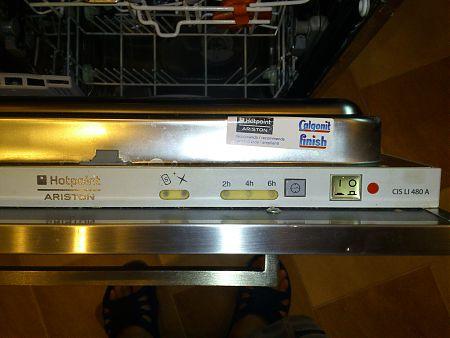 Панель посудомоечной машины Hotpoint-Ariston CIS LI 480 A