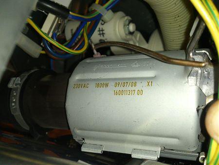 Проточный тэн посудомоечной машины Hotpoint-Ariston CIS LI 480 A