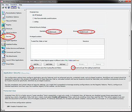 Adobe Customization Wizard XI рис.8