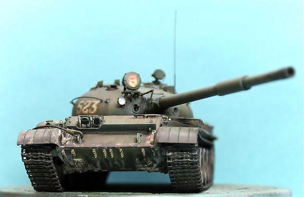 Модель танка Т-62 рис.3
