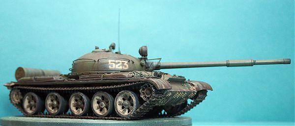 Модель танка Т-62 рис.4
