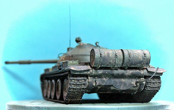 Модель танка Т-62 рис.5