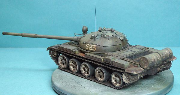 Модель танка Т-62 рис.6