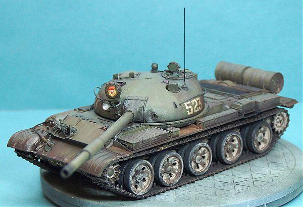Модель танка Т-62 рис.7