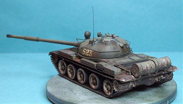 Модель танка Т-62 рис.10