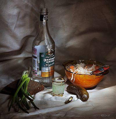 Натюрморт с водкой - 2