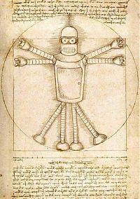 Робот Бендер из Футурамы