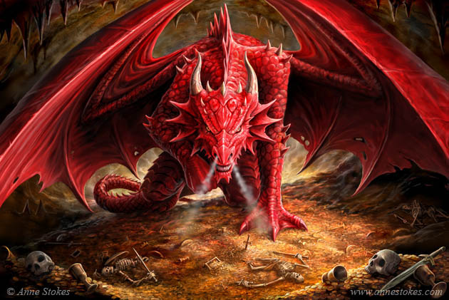 Dragons Lair by Anne Stokes