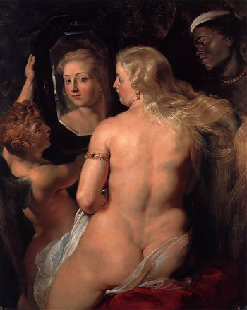 Питер Пауль Рубенс - Венера перед зеркалом