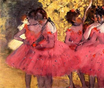 Эдгар Дега - Балерины