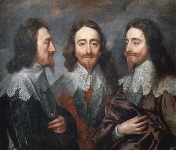 Антонис ван Дейк - Портрет Карла Первого, короля Англии