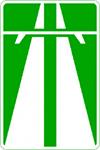 """знак 5.1 - """"Автомагистраль"""""""