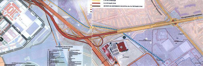 Пересечение Новоегорьевского и Новорязанского шоссе