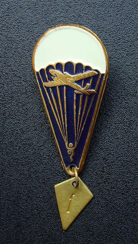 Значок парашютиста (1 прыжок)