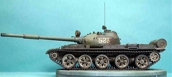 Модель танка Т-62 рис.2