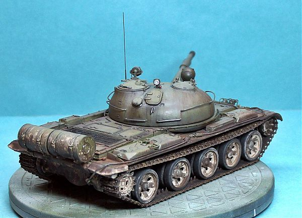 Модель танка Т-62 рис.9