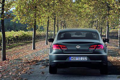 Купе Volkswagen Passat CC